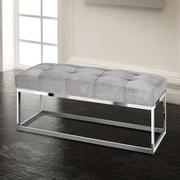 Rosdorf Park Adreanna Metal Bedroom Bench; 20'' H x 44'' W x 20'' D