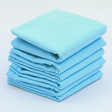 Red Barrel Studio Perth Cotton Napkin (Set of 6); Baby Blue