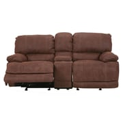 Red Barrel Studio Rankin Upholstered Power Reclining Sofa; Driftwood