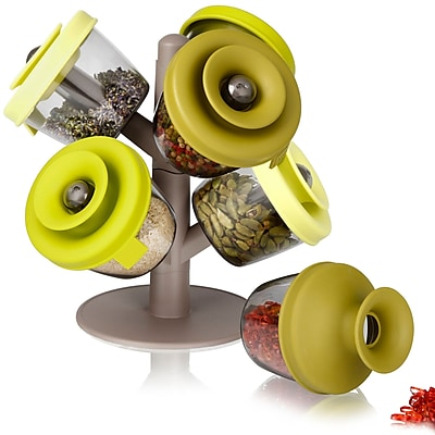 Symple Stuff Herb and Spice 6 Jar