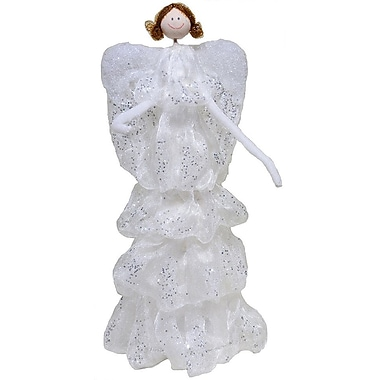 The Holiday Aisle Standing Angel; 18'' H x 6.25'' W x 6.25'' D