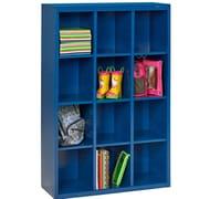 Tennsco Storage Unit Bin 12 Compartment Cubby ; Estey Blue