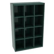 Tennsco Storage Unit Bin 12 Compartment Cubby ; Evergreen
