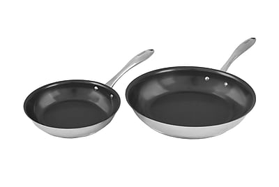 Tuxton Home Concentrix Non-Stick Stainless Steel Cookware