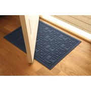 Bungalow Flooring Aqua Shield Navy Nautical Mat