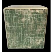 World Menagerie Capucina Crackle Tissue Box Cover