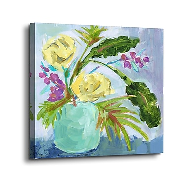 Winston Porter 'Just for You' Print on Canvas; 10'' H x 10'' W x 2'' D