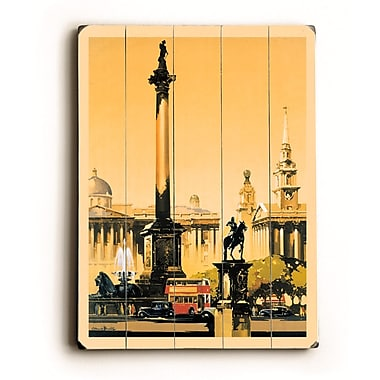Winston Porter 'London Trafalgar Square 1948-1965' Vintage Advertisement; 20'' H x 14'' W x 1'' D