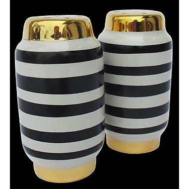 Waylande Gregory Stripe Salt & Pepper Set