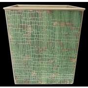 Waylande Gregory Crackle Waste Basket