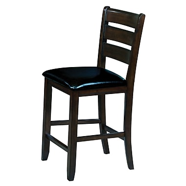 Alcott Hill Stanley Dining Chair (Set of 2); Espresso