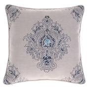 Astoria Grand Allsop Royal Throw Pillow; Indigo/Harbor by
