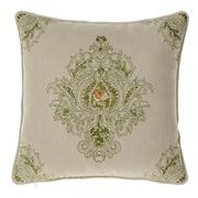 Astoria Grand Allsop Royal Throw Pillow; Moss/Curry by