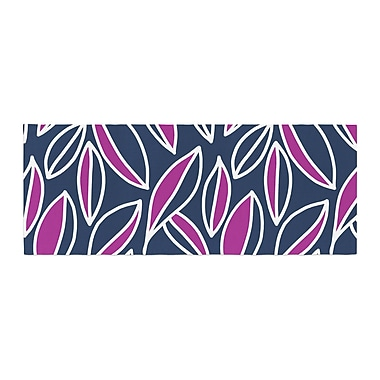 East Urban Home Emine Ortega Leaving Bed Runner; Magenta