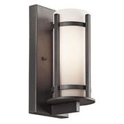 Latitude Run Millbourne 1-Light Outdoor Sconce; 22.5'' H x 7'' W x 7.75'' D / Incandescent