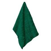 Latitude Run Solid Shaggie Towel; Green with Ivy
