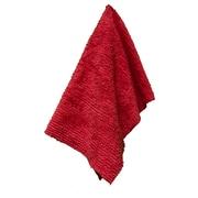 Latitude Run Solid Shaggie Towel; Cha Cha Chili