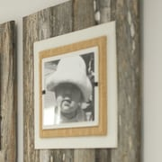 Union Rustic Extra Large Single Picture Frame; Cream