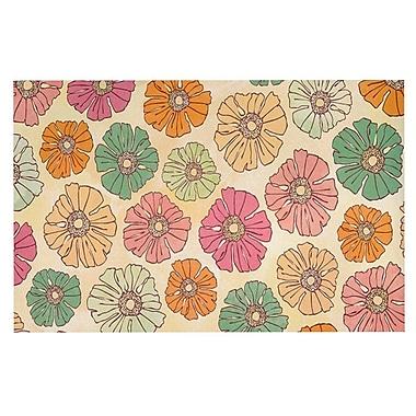 East Urban Home Heidi Jennings 'Vintage Petals' Doormat