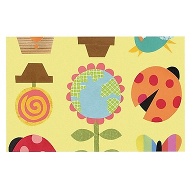 East Urban Home Jane Smith 'Spring Repeat' Doormat