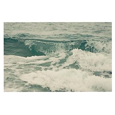 East Urban Home Cristina Mitchell 'Crashing Waves' Ocean Decorative Door Mat