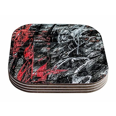 East Urban Home Bruce Stanfield 'Areus' Coaster (Set of 4)