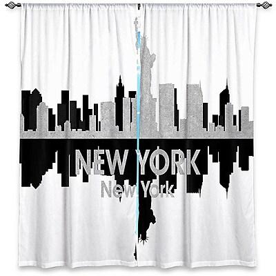 East Urban Home City IV New York New York Angelina Vick's Room Darkening Curtain Panels (Set of 2)