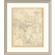 East Urban Home 'Civil War - White House to Harrisons Landing, 1862' Framed Print