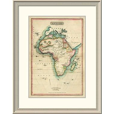 East Urban Home 'Africa, 1820' Framed Print; 30'' H x 23'' W x 1.5'' D