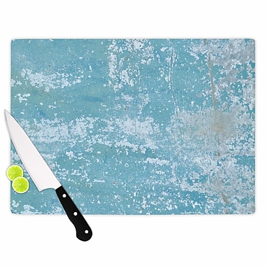 East Urban Home Jennifer Rizzo Glass 'Galvanized Vintage' Cutting Board