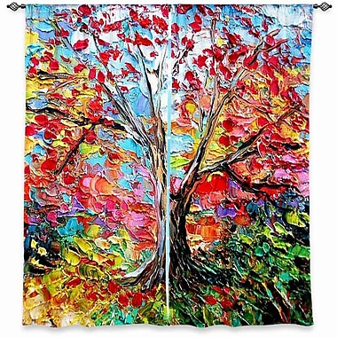 Latitude Run Girard Aja Ann's Story of the Tree 59 Room Darkening Curtain Panels (Set of 2)