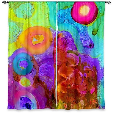 Lykens China Carnella's Window Finding Equilibrium Room Darkening Curtain Panels (Set of 2)