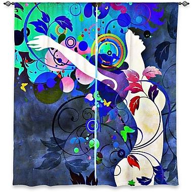 Latitude Run Mahanoy Angelina Vick's Window Wondrous Night Room Darkening Curtain Panels (Set of 2)