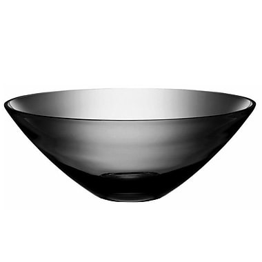 Orren Ellis Cased Gray Glass Decorative Bowl