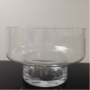 Red Barrel Studio Clear Glass Table Vase