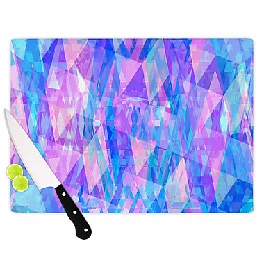 East Urban Home Suanne Carter Glass 'Geo Prism2' Cutting Board; 0.25'' H x 15.75'' W x 11.5'' D