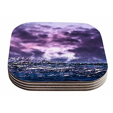 East Urban Home Colin Pierce 'Grape Drops' Photoraphy Coaster (Set of 4)
