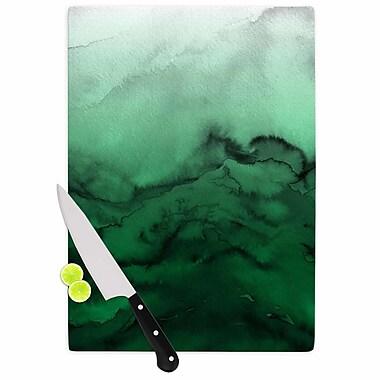 East Urban Home Ebi Emporium Glass 'Winter Waves 7' Cutting Board; 0.25'' H x 11.5'' W x 8.25'' D