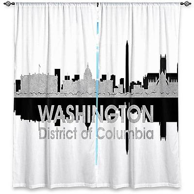 East Urban Home City IV Washington DC Angelina Vick's Room Darkening Curtain Panels (Set of 2)