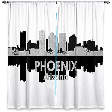 East Urban Home City IV Phoenix Arizona Angelina Vick's Room Darkening Curtain Panels (Set of 2)