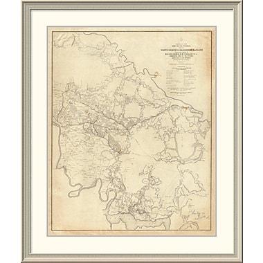 East Urban Home 'Civil War - White House to Harrisons Landing, 1862' Framed Print