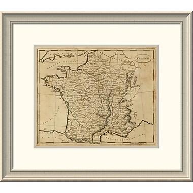 East Urban Home 'France, 1812' Framed Print; 21'' H x 24'' W x 1.5'' D