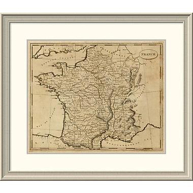 East Urban Home 'France, 1812' Framed Print; 26'' H x 30'' W x 1.5'' D