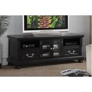 A&J Homes Studio Naveda 63'' TV Stand; Black