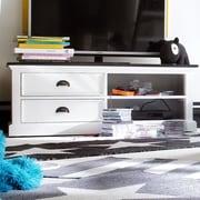NovaSolo Halifax Contrast TV Stand; 18'' H x 47'' W x 18'' D