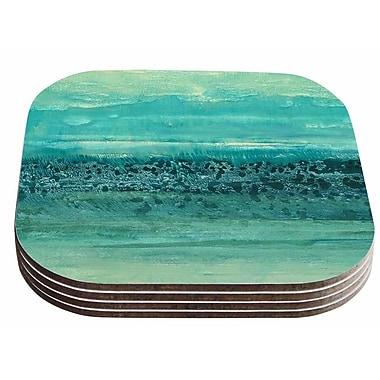 East Urban Home Iris Lehnhardt 'Oceanic' Coaster (Set of 4)