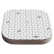 East Urban Home Shade Cubed' Coaster (Set of 4)