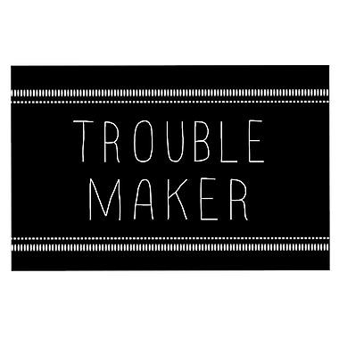 East Urban Home Skye Zambrana 'Trouble Maker' Doormat