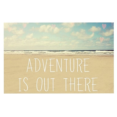 East Urban Home Sylvia Cook 'Adventure is Out There' Doormat