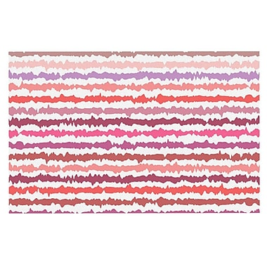 East Urban Home Nandita Singh 'Blush' Striped Doormat